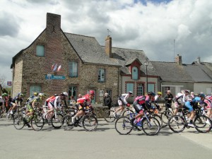Passage du Tour de Bretagne le 27 avril